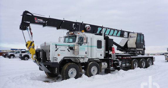 2014 Kenworth C500 boom truck sold at a Ritchie Bros. auction