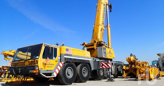 2000 Liebherr LTM1300-1 All Terrain Crane sold at Ritchie Bros. auction