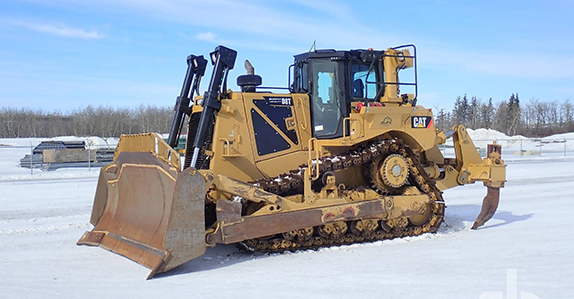 2012 Caterpillar D8T dozer sold at Ritchie Bros. auction.
