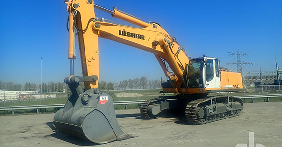 2013 Unused 2013 Liebherr R964C HD Litronic hydraulic excavator sold at Ritchie Bros. auction.