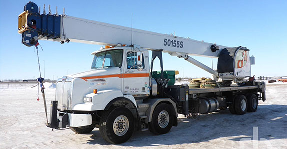 2014 Western Star 4800TS boom truck sold at Ritchie Bros.