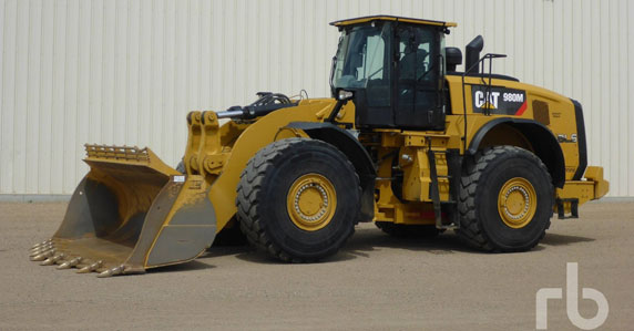 Caterpillar wheel loaders for sale