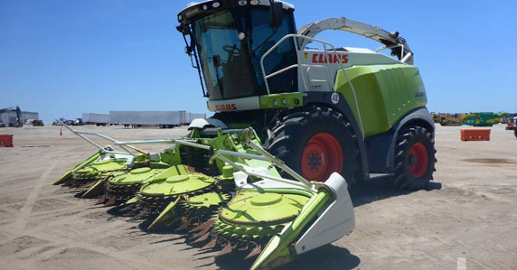 2012 CLAAS 970 Jaguar forage harvester sold by Ritchie Bros.