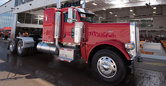 Trucks hit the ramp at the big Ritchie Bros. Orlando auction