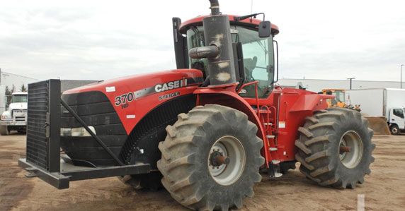 Agriculture equipment sold by Ritchie Bros. Auctioneers