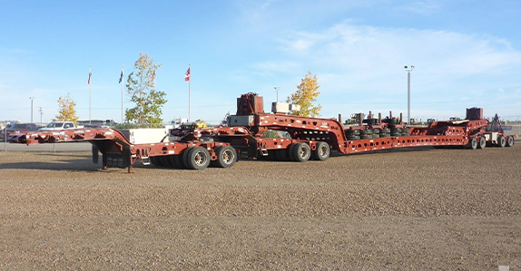 Transport equipment sold in auction by Ritchie Bros.