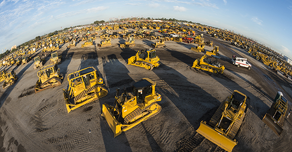 Heavy equipment and trucks for sale at Ritchie Bros. Orlando auction