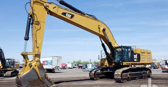 Excavators for sale at Ritchie Bros.
