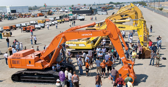 Demand for excavators is expected to stabilize somewhat in January and March