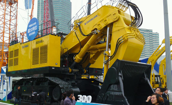 Zoomlion's ZE3000ELS is the largest excavator ever developed and built in China
