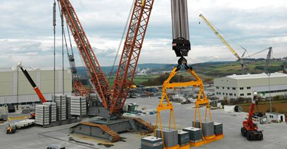 Five of the world's largest cranes    Ritchie Bros  Auctioneers