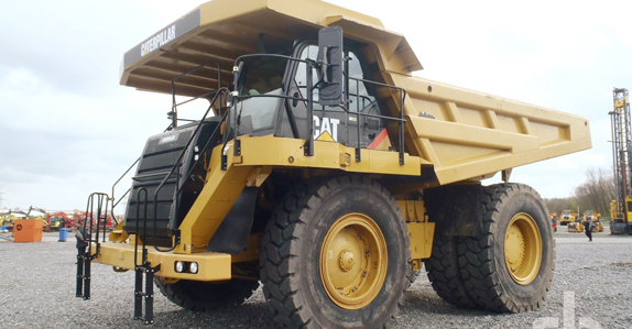 Caterpillar, the world's largest manufacturer of construction equipment, topped the list of manufacturers of equipment sold at Ritchie Bros. auctions in 2012