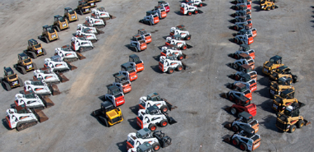 Skid steer attachments for sale: Large selection of used Caterpillar, Case, John Deere, JCB and Bobcat skid steer attachments