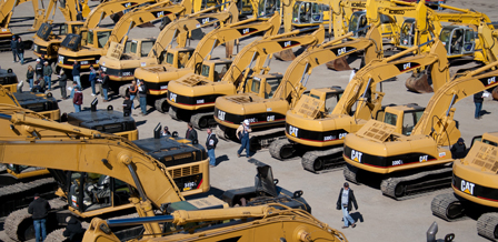Excavators - unused and used excavators for sale at upcoming Ritchie Bros. auctions