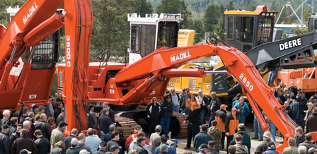 Used logging equipment - large selection of forestry & environmental equipment for sale at upcoming auctions