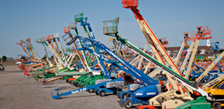 Used scissor lifts and boom lifts for sale at upcoming Ritchie Bros. auctions - electric scissor lifts and boom lifts for sale