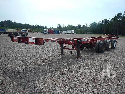 search container chassis skel trailers and container trailers for sale at auctions - Mobile Home Trailer Frames For Sale
