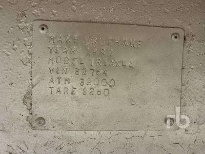 Atm Möbel 1987 fruehauf 13 6 m tri a flat top trailer lot 292 ritchie bros