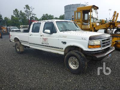 1997 Ford F350 Crew Cab 4x4 Pickup Parts Stationary Trucks Other
