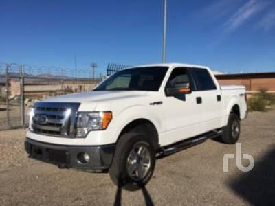 2011 Ford F150 Xlt Crew Cab 4x4 Pickup Ritchie Bros Auctioneers