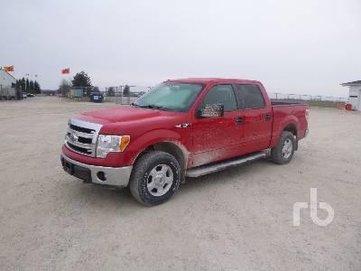 2011 Ford F150 Xlt Crew Cab 4x4 Pickup Lot 554 Ritchie Bros