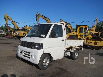 2005 MITSUBISHI GBD-U62T 4x4 Dump Truck (S/A) Lot #44K