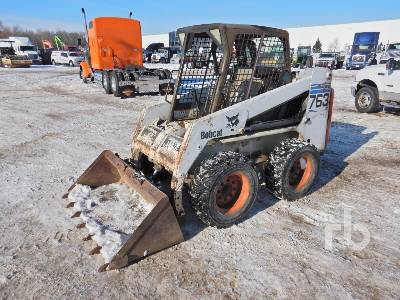 2001 Bobcat 763 Skid Steer Loader Lot 756a Ritchie Bros Auctioneers