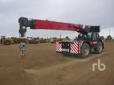 2013 GROVE YB7725 25 Ton 4x4x4 Carry Deck Crane | Ritchie