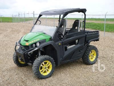 John Deere Side By Side >> 2012 John Deere Rsx 850i Gator 4x4 Side By Side Atv 950 Cc Lot
