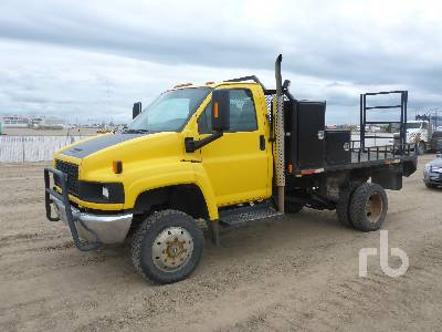 2005 GMC C5500 4x4 Flatbed Truck Lot #25 | Ritchie Bros