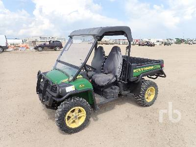 John Deere Side By Side >> 2013 John Deere Gator 825i 4x4 Side By Side Utility Vehicle