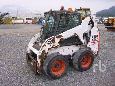 2008 BOBCAT S185 High Flow Skid Steer Loader Lot #227