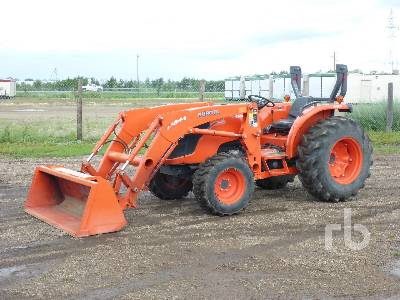2013 KUBOTA MX5100D MFWD Tractor | Ritchie Bros  Auctioneers