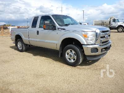 2011 FORD F250 XLT Extended Cab 4x4 Pickup Lot #2766
