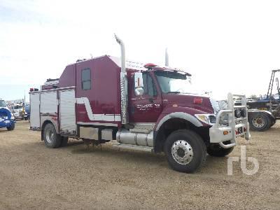 2007 INTERNATIONAL 7400 4x4 Fire Truck Lot #463 | Ritchie