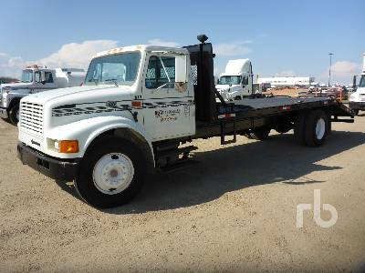 97 International 4700 >> 1995 International 4700 S A Flatbed Truck Lot 888 Ritchie