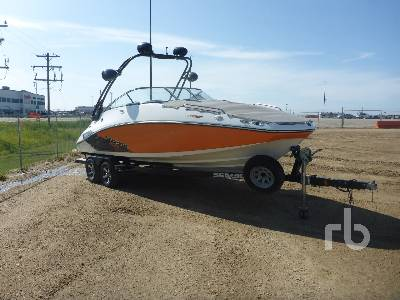 2011 SEA DOO CHALLENGER 24 Ft Boat | Ritchie Bros  Auctioneers