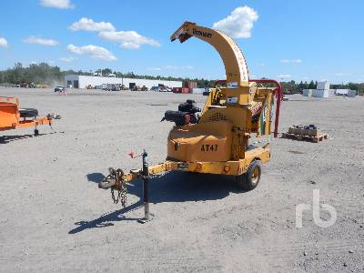 2007 VERMEER BC600XL 6 In  Portable Wood Chipper | Ritchie