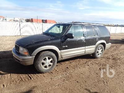 2000 oldsmobile bravada sport utility vehicle lot 21 ritchie bros auctioneers ritchie bros