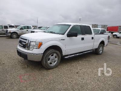 2010 Ford F150 Xlt Crew Cab 4x4 Pickup Parts Stationary Trucks