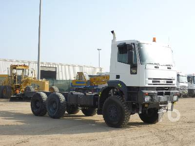 IVECO EUROTRAKKER MP380E37W 6x6 Cab & Chassis Lot #359 | Ritchie