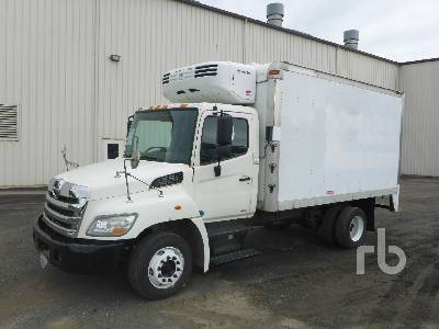 2012 HINO 268 Reefer Truck Lot 356 Ritchie Bros Auctioneers