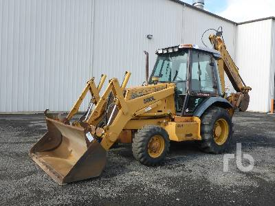 1997 CASE 580L 4x4 Loader Backhoe Lot #61 | Ritchie Bros  Auctioneers