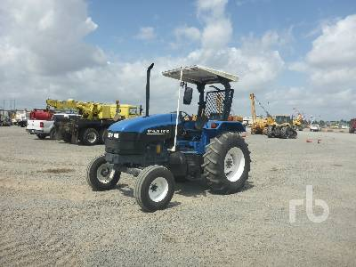 NEW HOLLAND TS110 2WD Tractor Lot #61 | Ritchie Bros  Auctioneers