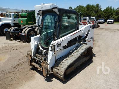 2016 BOBCAT T550 Multi Terrain Loader Lot #51 | Ritchie Bros