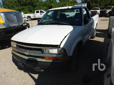 1999 Chevrolet S10 Parts Only Pickup Parts Stationary Trucks