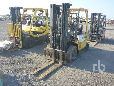TCM FD25Z4T 5000 Lb Forklift Lot #555 | Ritchie Bros  Auctioneers