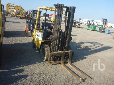 TCM FD25Z4T 5000 Lb Forklift Lot #555 | Ritchie Bros  Auctioneers