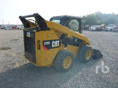2015 CATERPILLAR 272D 2 Spd Skid Steer Loader | Ritchie Bros