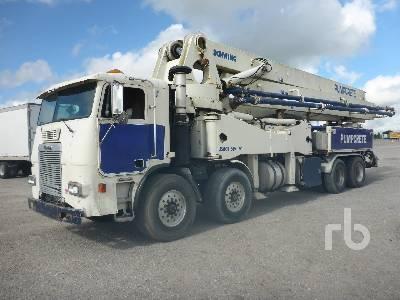 1999 FREIGHTLINER FLL086 COE 8x4 w/Schwing 42M Concrete Pump